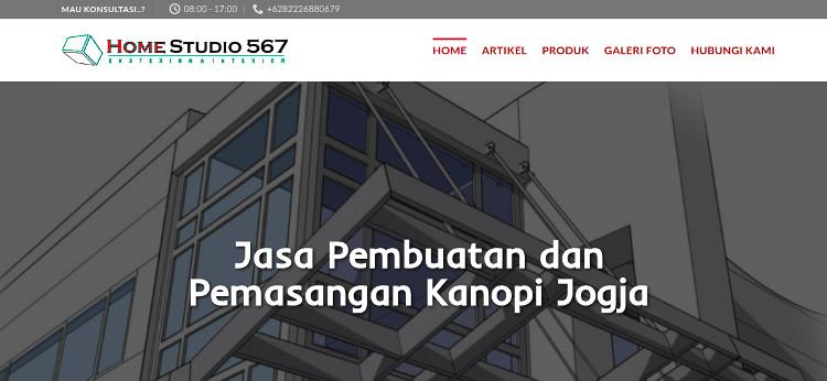 Website untuk digital marketing usaha pengelasan, doc pribadi